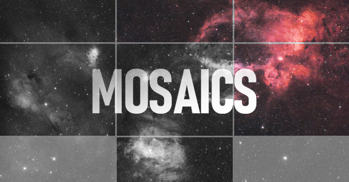 astrophotography mosaic