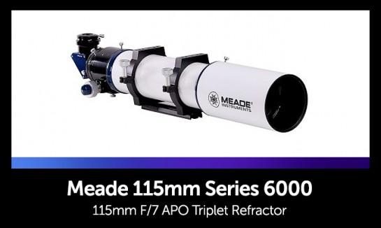 Meade 115ED Apo Triplet