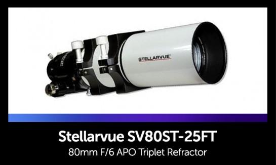 Stellarvue SV80ST-25FT