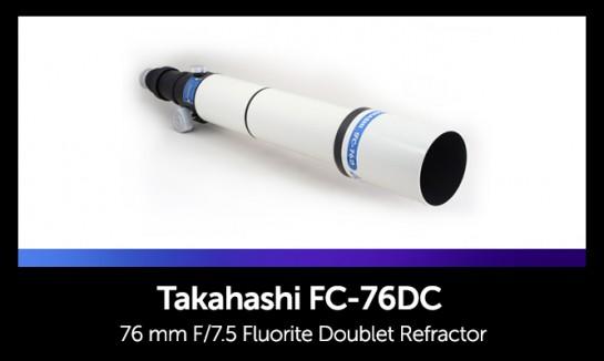 Takahashi FC-76DC fluorite doublet