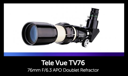 Astrophotography Telescope - Tele Vue TV76 Doublet Refractor