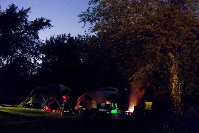 Astronomy at Ontario Campgrounds