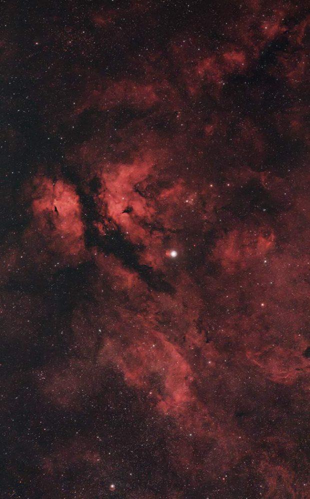 Nebula in Cygnus