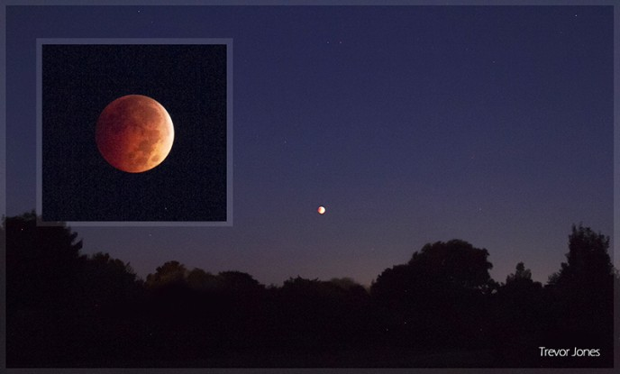 Total Lunar Eclipse - Moon Photography