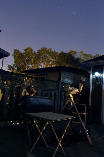 Backyard Astrophotography