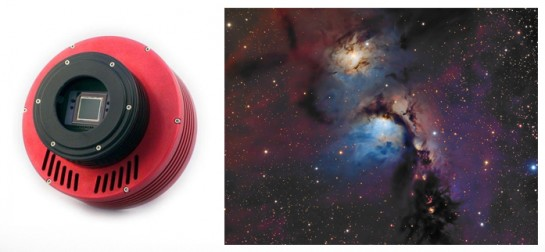 ATIK Mono CCD Camera for narrowband astrophotography with filters