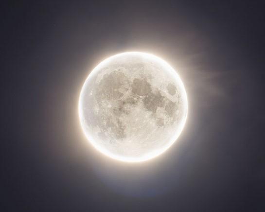 Full Moon on Christmas 2015