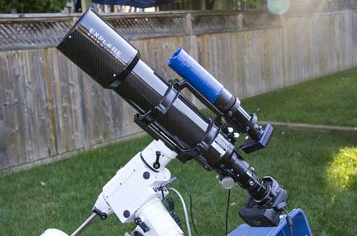 DSLR and telescope for astrophotography