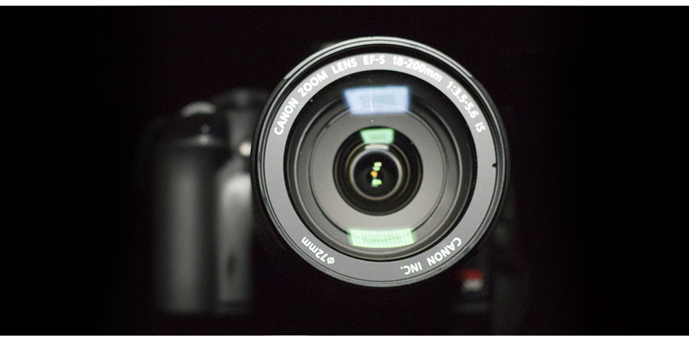 DSLR Camera lens for night sky photography