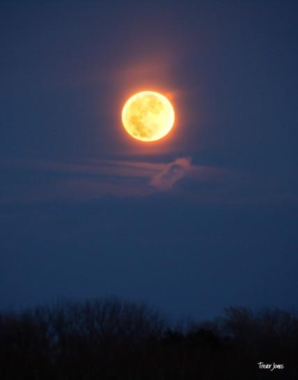 Moonglow rising
