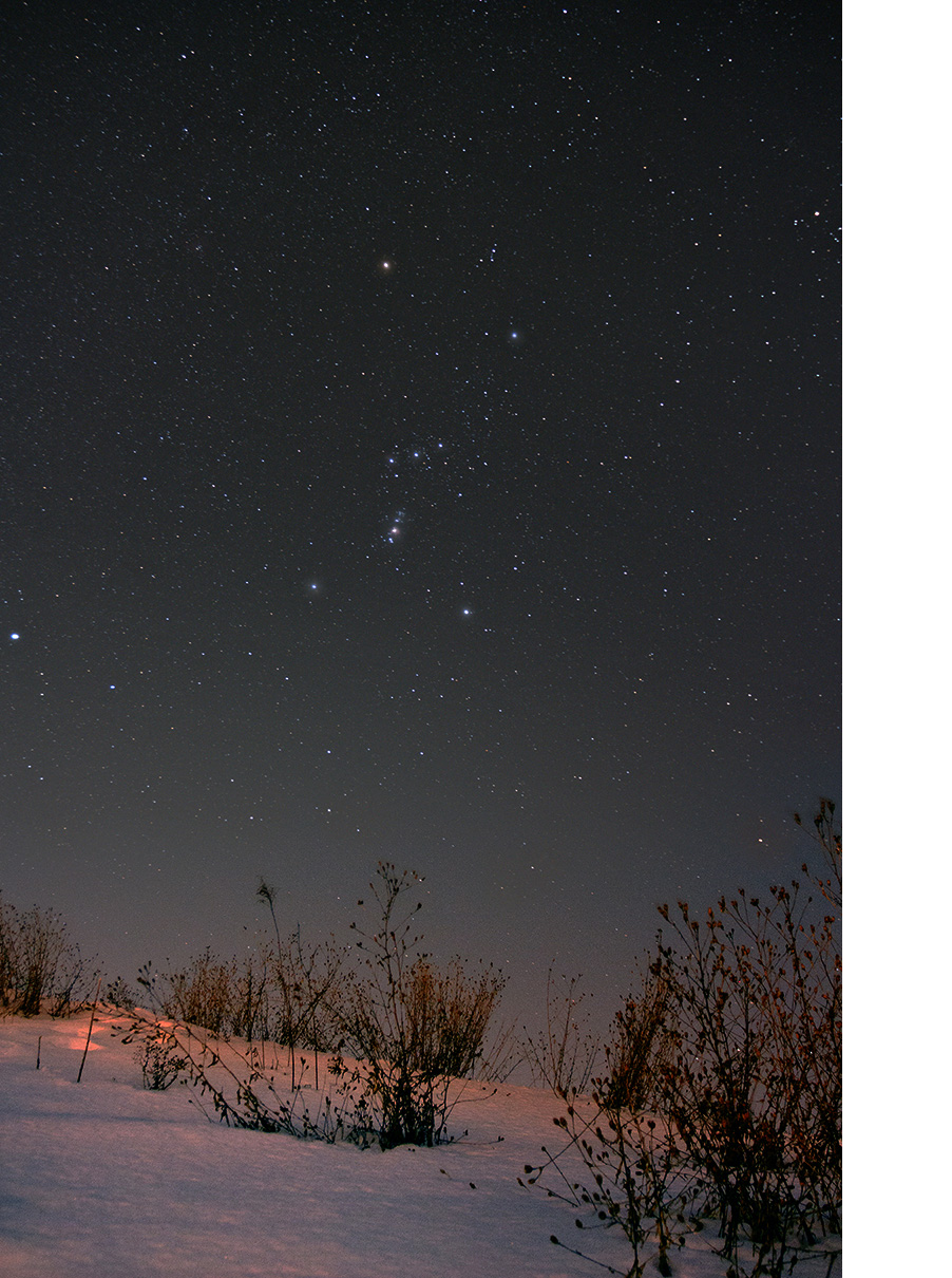 Beginner Astrophotography Image on a Tripod