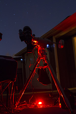 astrophotography complete setup