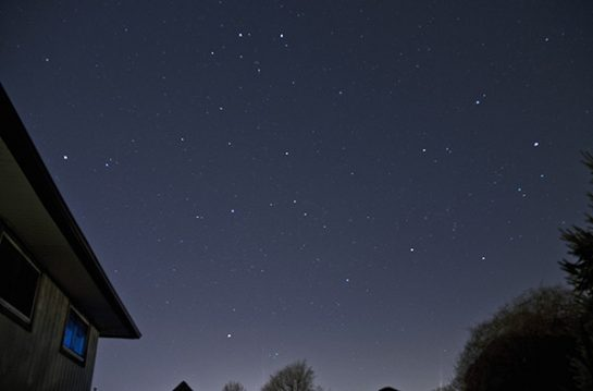 DSLR and tripod astrophotography