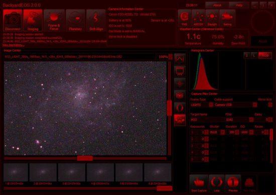 BackyardEOS Screenshot
