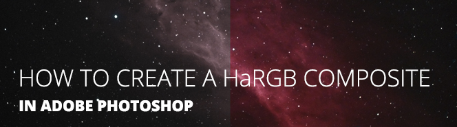 HaRGB Astrophotography tutorial