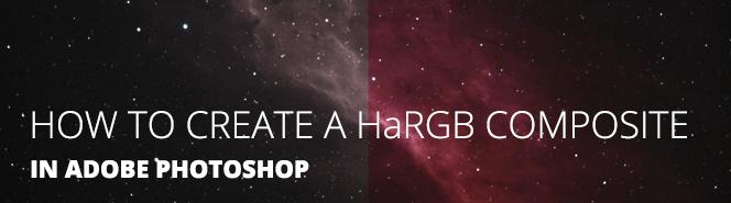 HaRGB Astrophotography tutorial