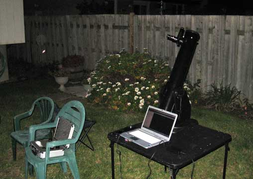 small dobsonian telescope