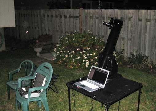 small dobsonian telescope