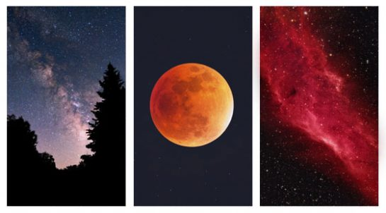 Types of astrophotography