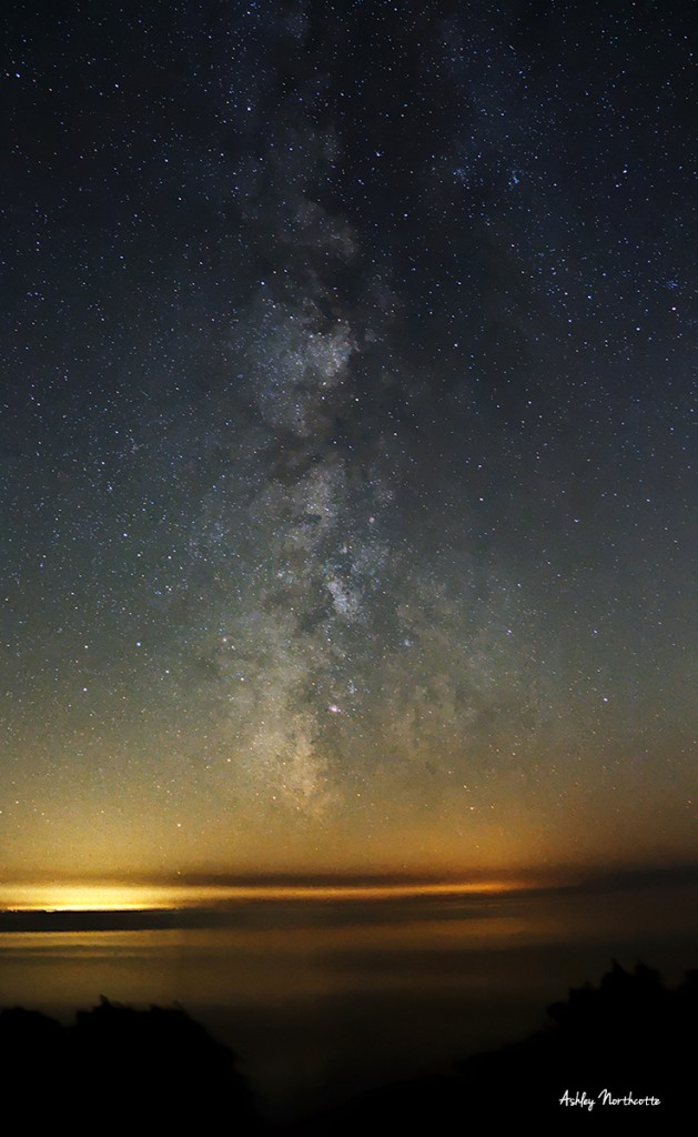 Milky Way astrophotography image by Ashley Northcotte