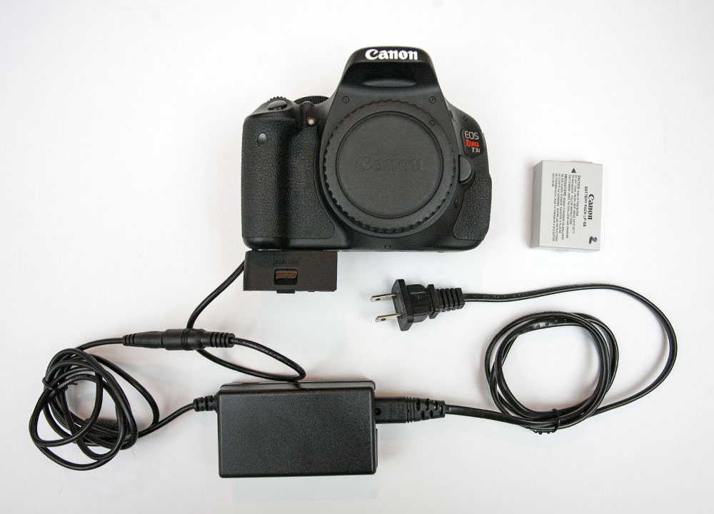 Canon t3i AC adapter