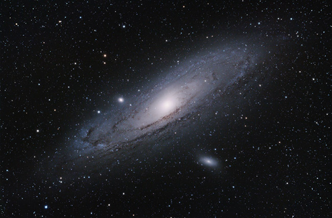 Andromeda Galaxy with a DSLR