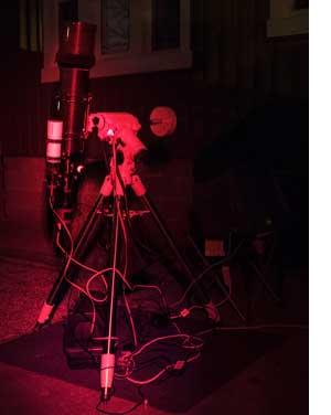 astrophotography equipment setup