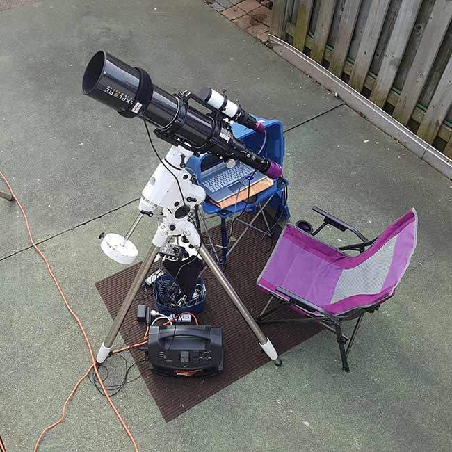 Astrophotography Setup