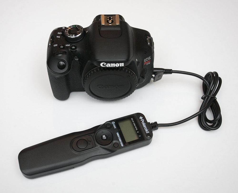 Canon T3i Remote Shutter Release Cable