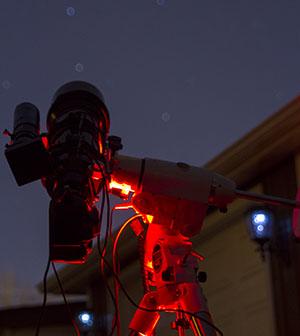 Deep-sky imaging setup