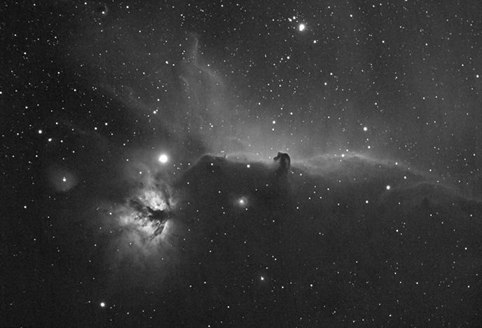 Horsehead Nebula in H-Alpha