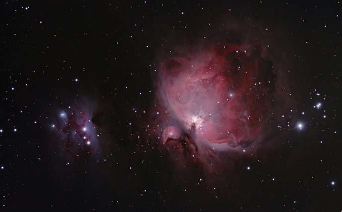 Orion Nebula - 1 Hour Astrophotography Image