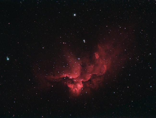 The Wizard Nebula in HaRGB