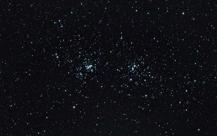 Double Cluster - Stars
