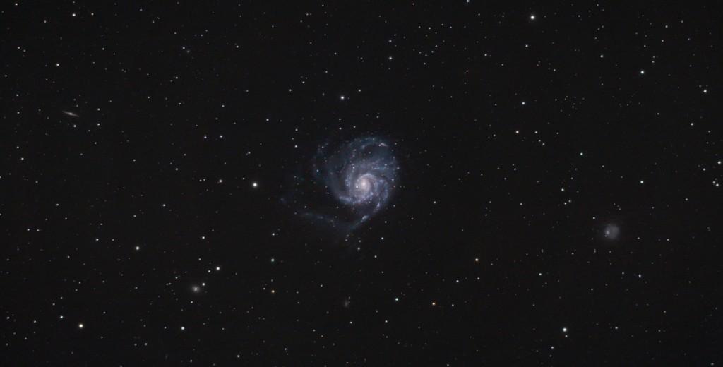 Wide field image of the Pinwheel Galaxy
