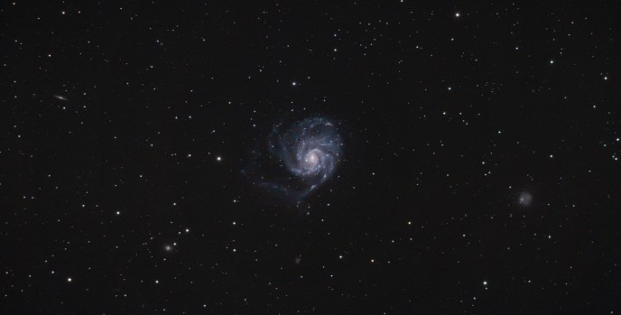 Wide field image of the Pinwheel Galaxy