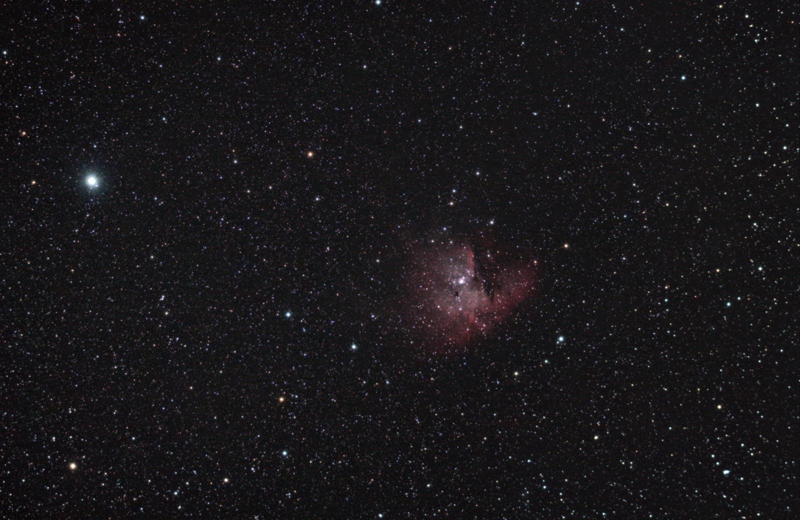 pacman nebula - photo #11