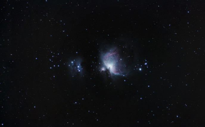 Wide field Orion Nebula image