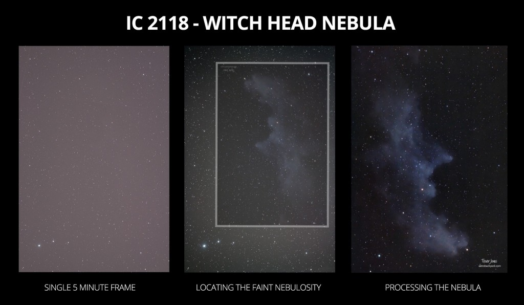 IC 2118 Nebula in Orion
