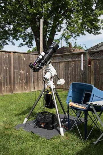 Astrophotography Telescope Equipment