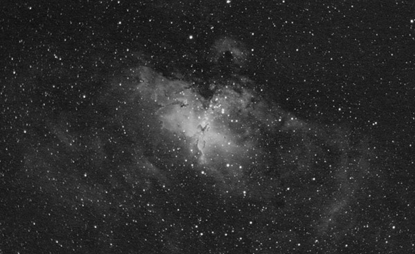 Eagle Nebula in Ha