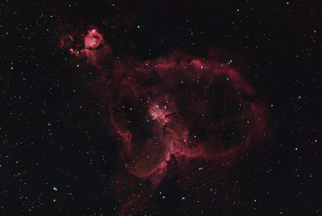Heart Nebula in HaRGB