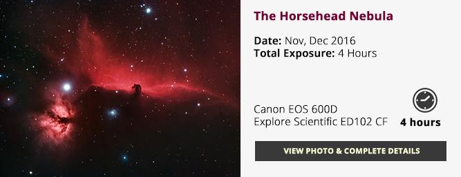 Horsehead Nebula - DSLR HaRGB