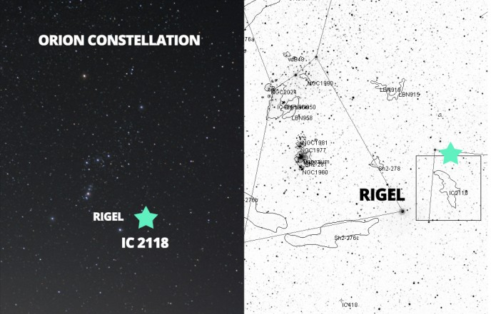 Find IC 2118