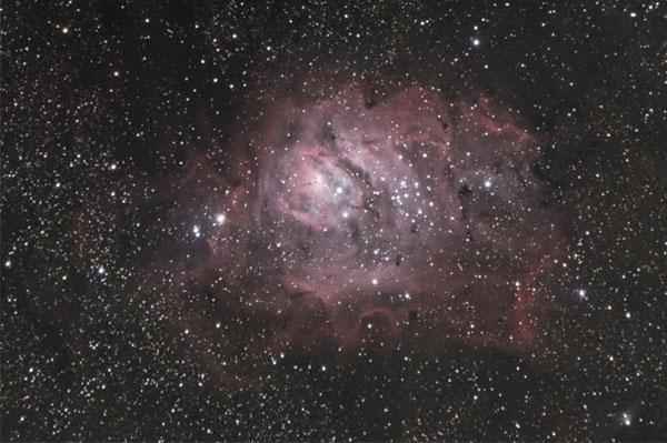Lagoon Nebula by Jeffrey Shokler