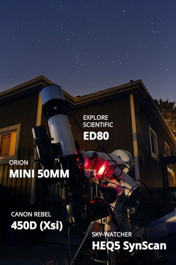 Refractor Telescope Setup