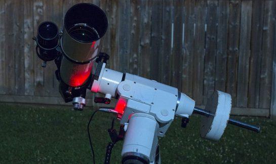 Basic astrophotography setup