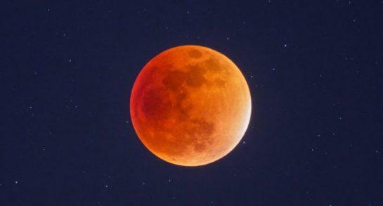 Lunar Eclipse through a telescope