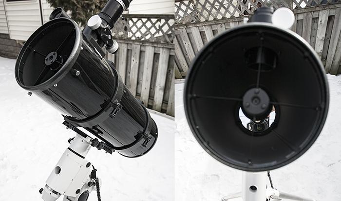 Aligning My Newtonian Reflector Telescope