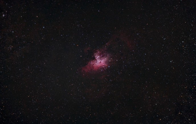 Eagle Nebula - 80mm Telescope